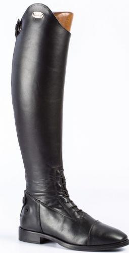D.due Tanace Long Riding Boots-Black