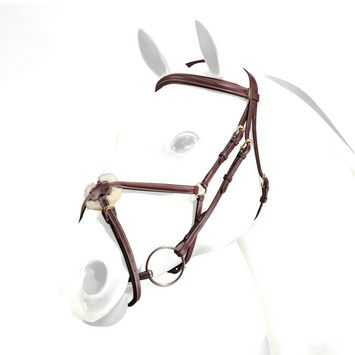 Emporio by Equipe Clinchered Figure 8 Bridle no reins