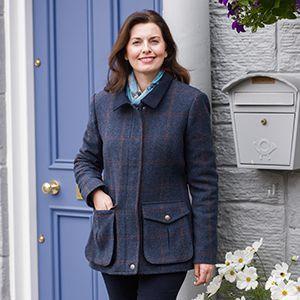 Hoggs Ladies Jacket. Wycombe - Blue