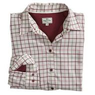 Hoggs Ladies Shirt. Erin - Apple Check