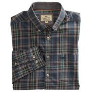 Hoggs  Mens Shirt. Galloway - Blue/Grey
