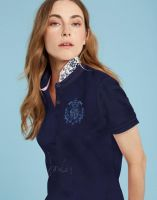 Joules Ladies Polo. Amity - French Navy Size 12