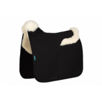 Numed HiWither Half Wool Saddlepad with Collars Front & Back