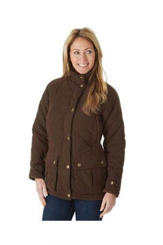 Sherwood Forest Ladies Jacket. Seathwaite -  Brown