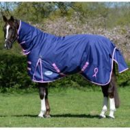 Weatherbeeta 1200D Medium Combo Pink Ribbon Foundation Rug