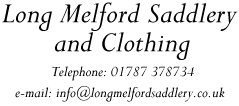 Horse - Long Melford Saddlery