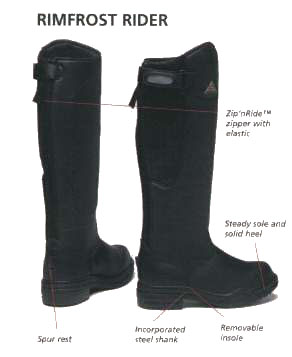 Mountain Horse Rimfrost Rider Ii Long Boot Long Melford